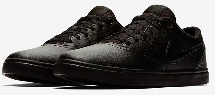 Nike SB Check Solarsoft Sneaker in Schwarz für 29,38€ (statt 47€)