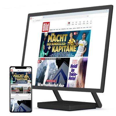 Geht noch: BILDplus Digital Jahresabo bei BILD für 35,88€ (statt 80€)   oder mit iPad 10.2 für 17,99€ mtl.