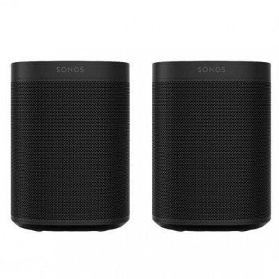 BlackWeek: 2x SONOS One 2. Gen Smart Speaker mit Sprachsteuerung ab 349,95€ (statt 388€) + 6 Monate Spotify Premium