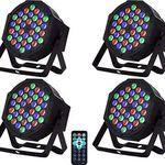 4x Partylicht mit verschiedenen Modi & 36 LEDs für 41,99€ – aus DE