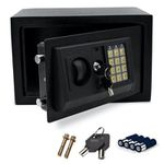 Wolketon Elektronischer-Möbeltresor 31x20x20cm mit Doppelstahlbolzen inkl. Montagematerial für 25,89€ (statt 37€)