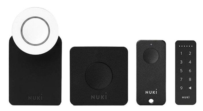 Nuki Komplett Set: Smart Lock 2.0 + Bridge + Fob + Keypad ab 314,95€ (statt 411€)