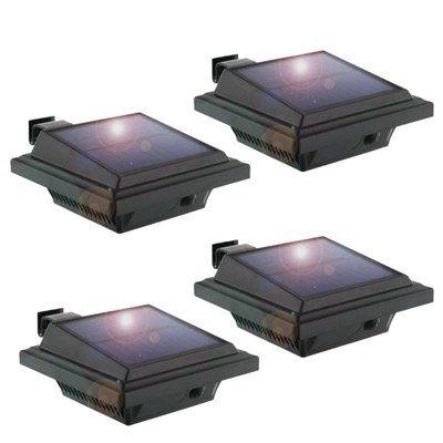 Keenzo LED Solarlampen IP65 Wasserdicht mit 40% Rabatt   z.B. 4er Set nur 29,99€ (statt 50€)
