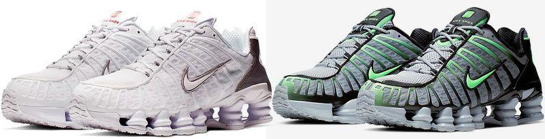 Nike Shox TL Herrenschuh in 4 Designs für je 83,28€ (statt 123€)