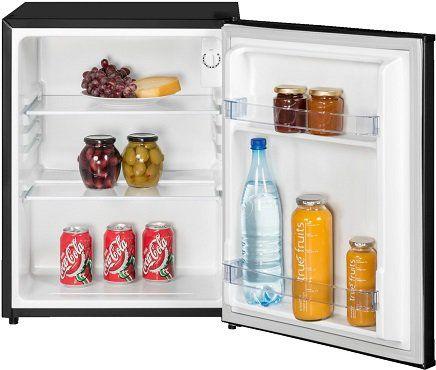 EXQUISIT KB 60 15 A++ SW Kühlschrank mit EEK A++ in schwarz für 109€ (statt 124€)