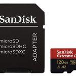 SANDISK Extreme PRO 128GB Micro-SDXC A3 Speicherkarte für 29€ (statt 38€)