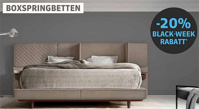 Schlafwelt mit 20% Rabatt auf ALLES (auch im Sale) - Betten ...