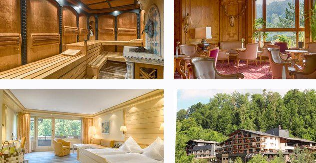 2 ÜN im Nordschwarzwald im 4* Mönchs Waldhotel mit Frühstück, Wellness & Dinner 134€ p.P.