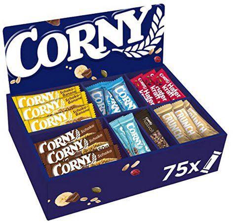 Corny Bestseller Box mit 75 Riegeln ab 25,19€