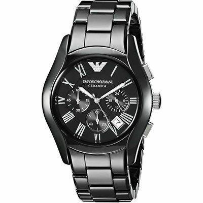 Emporio Armani AR1400 Herrenuhr mit Quarz Uhrwerk für 111,96€ (statt 139€)