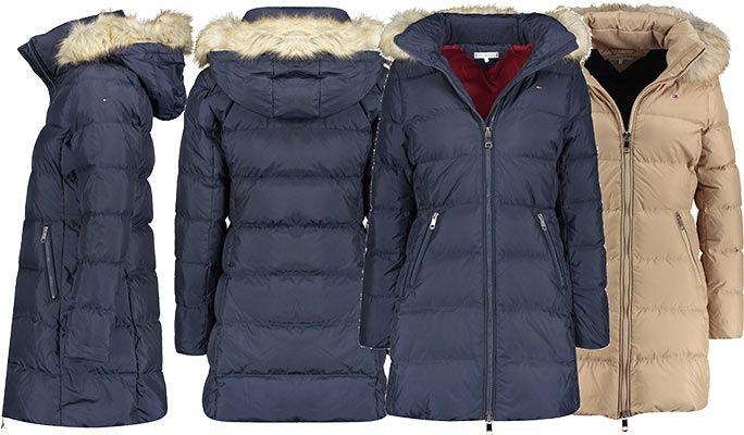 Tommy Hilfiger Damen Daunenparka CL Nani Down Coat für 204,30€ (statt 300€)