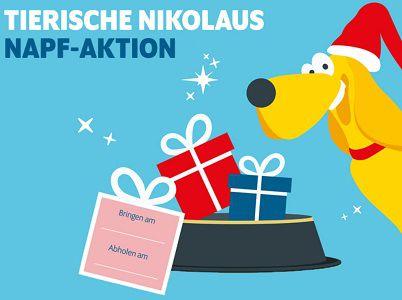 Gratis: Nikolaus Napf Aktion von Futterhaus für Vierbeiner