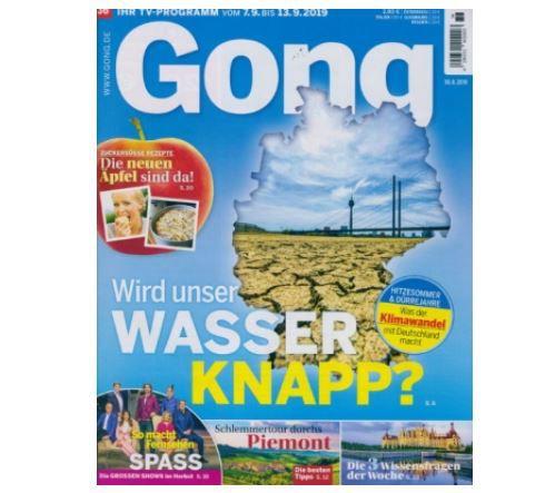 GONG Jahres Abo TV Zeitschrift für 119,60€ + 110 Amazon Gutschein