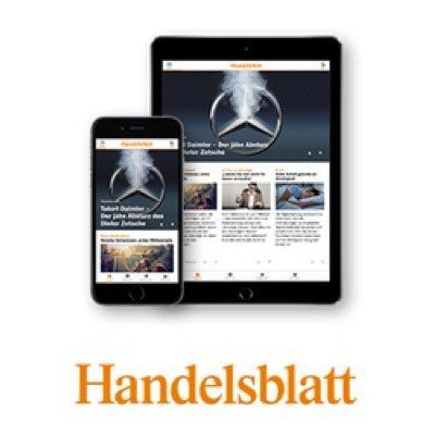 Handelsblatt Digital Standard mit 50% Rabatt   nur 12,49€ mtl. (statt 24,99€) + mtl. kündbar