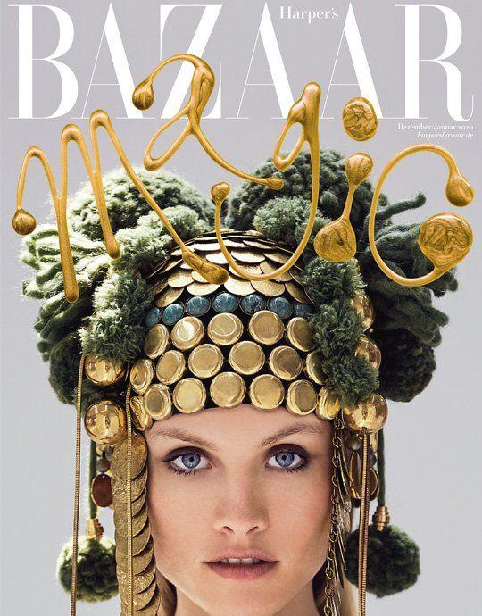4 Ausgaben Harpers Bazaar für 25,60€ + 25€ Verrechnungsscheck