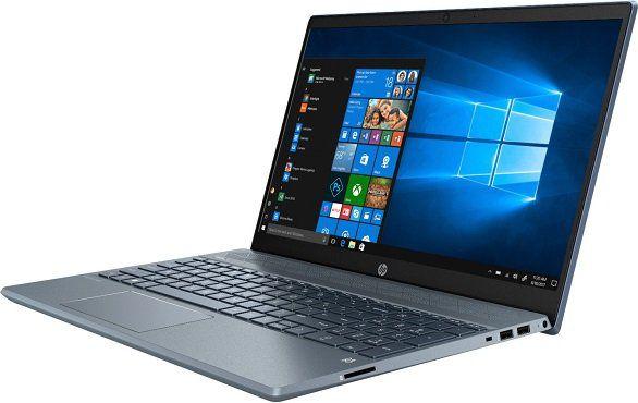 HP Pavilion 15 cw1315ng Notebook mit 15.6, Ryzen5, 512GB SSD in blau für 473,99€ (statt 614€)
