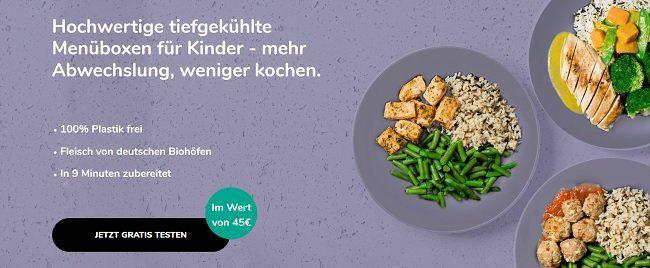 Kindish: Essens Menübox für Kinder kostenlos (statt 45€) bestellen + VSK