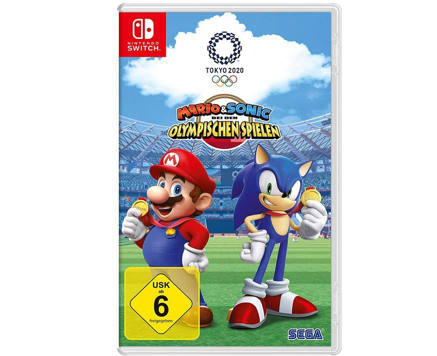 Mario & Sonic bei den Olympischen Spielen: Tokyo 2020 [Nintendo Switch] + Joy Con 2er Set für 99€