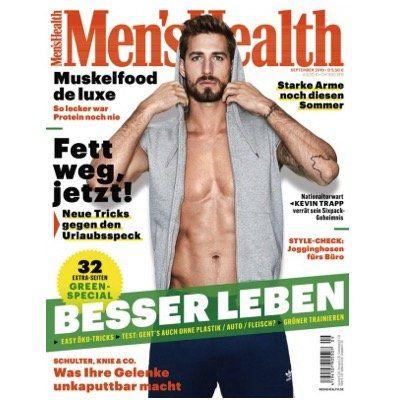 3 Ausgaben Men's Health für nur 11,80€   Prämie: 16,20€ Verrechnungsscheck
