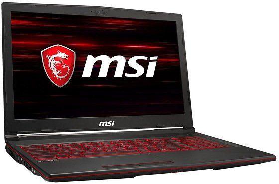 MSI GL63 Gaming Notebook mit 15.6, i7, 16GB RAM, 256GB SSD, 1TB HDD, GeForce GTX 1650 für 1.099€ (statt 1.384€)