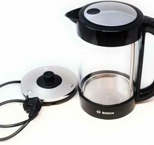 Bosch TWK70B03 Glas Wasserkocher (1,7 l Fassungsvermögen) für 33€ (statt 46€)
