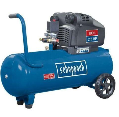 Scheppach HC105DC Doppelzylinder Druckluft Kompressor für 199€ (statt 279€)