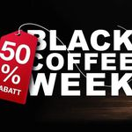 Kaffeevorteil Black Coffee mit bis zu 50% Rabatt – z.B. 50 Kapseln (Nespresso) ab 8,49€