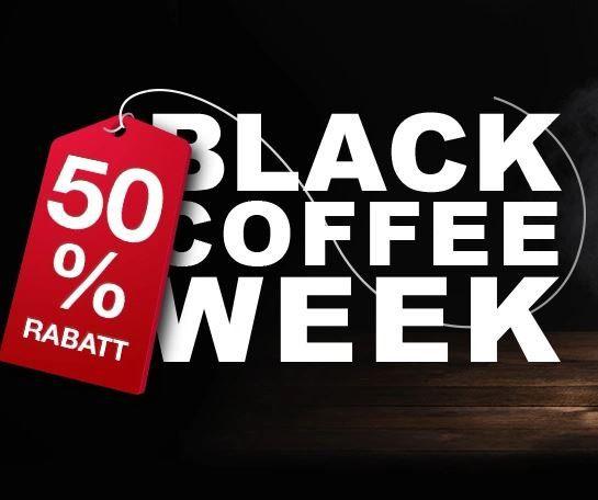 Kaffeevorteil Black Coffee mit bis zu 50% Rabatt   z.B. 50 Kapseln (Nespresso) ab 8,49€