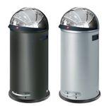 Hailo KickVisier XL Großraum-Abfallbox in Schwarz oder Silber für 119,95€ (statt 189€)