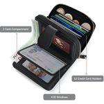 Kreditkartenetui aus echtem Leder mit RFID-Schutz für Damen und Herren für 5,20€ (statt 13€) – Prime