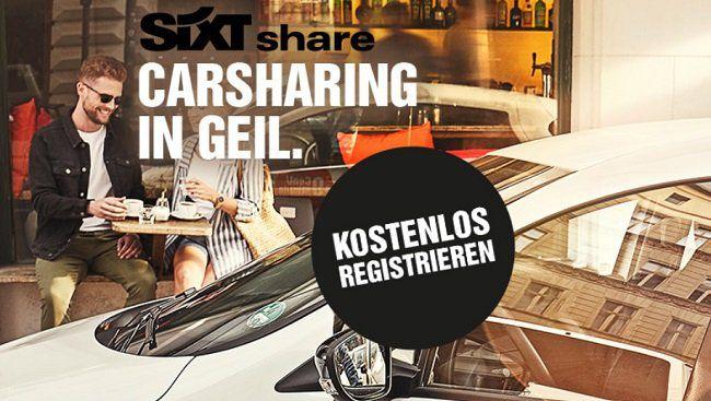 SIXT Share: 30€ Gutschein für Neukunden