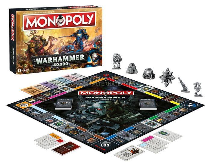 Monopoly Warhammer 40K Brettspiel für 17,85€ (statt 22€)