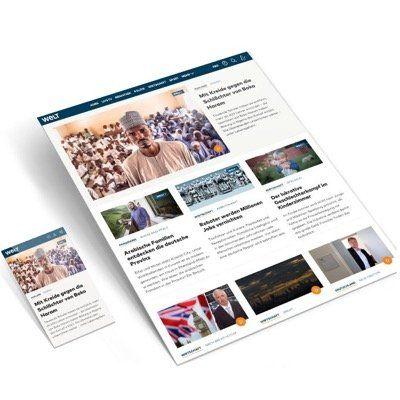 WELTPlus Digital Abo während der Black Week mit 50% Rabatt   ab 4,99€ monatlich