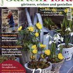 12 Ausgaben GartenFlora für 46,60€ + bis 45€ Gutschein