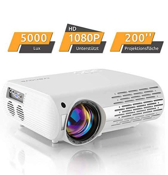 Crenova XPE500 LED Beamer mit 5000 Lux für 55,99€ (statt 106€)