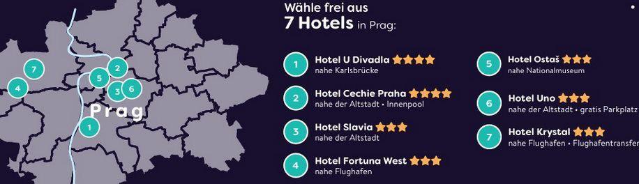 Gutschein: 2ÜN in Prag inkl. Frühstück & Schiffahrt für 39€ p.P.