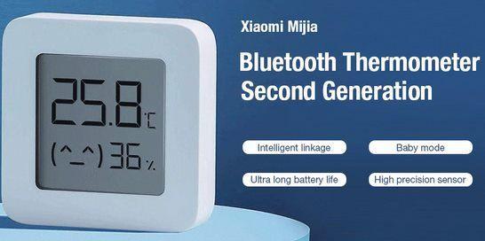 4er Pack: Xiaomi Mijia Thermo Hygrometer mit Bluetooth für 19,80€   neue Version