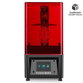 ELEGOO MARS UV LCD 3D Drucker mit 3,5 Zoll Smart Farbtouchscreen für 241,49€ (statt 260€)