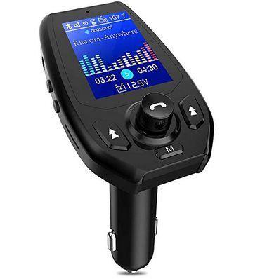 Karcore FM Transmitter mit 1,8 Zoll Display für 8,99€   Prime