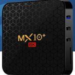 MX10 Plus 6K TV-Box mit Android 9.0 mit 4/64GB für 36,85€ – aus DE