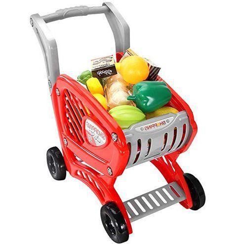 Kindereinkaufswagen mit viel Zubehör für 11,54€ (statt 21€)