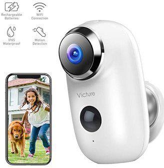 Victure EC730 1080p Überwachungskamera für Außen mit Akku für 39,99€ (statt 90€)