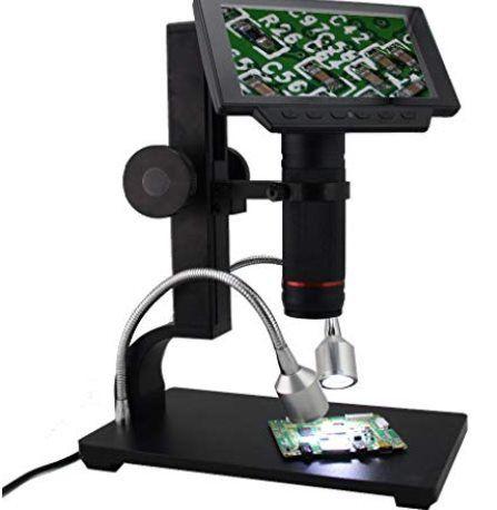 Andonstar ADSM302   1080p Digitalemikroskop mit 5 Zoll Bildschirm für 160,35€ (statt 255€)   aus DE