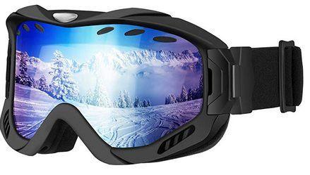 Mpow Ski  & Snowboardbrille mit  UV Schutz für 9,79€   Prime