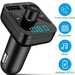 ANTOPM Bluetooth FM-Transmitter mit 2 USB-Ports für 10,39€ – Prime