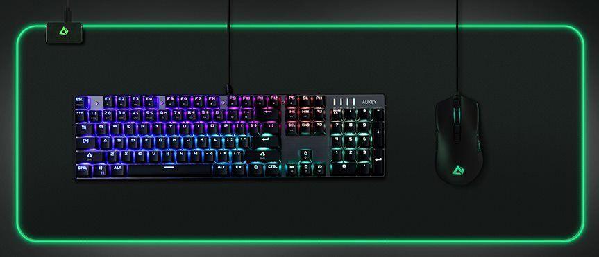 AUKEY RGB XXL Gaming Mauspad für 17,49€ (statt 25€)