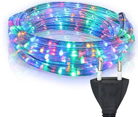 10m LED Lichtschlauch in versch. Farben für je 15,39€ (statt 21€)