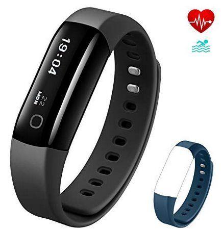 Vigorun Fitnesstracker mit Herzfrequenzmonitor & mehr für 12,99€   Prime