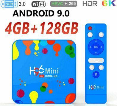 H96 Mini 6k TV Box mit Android 9.0 & 128GB ROM für 44,59€   aus DE