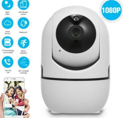 OWSOO 1080p 360° WLAN Cam für 18,65€   aus DE